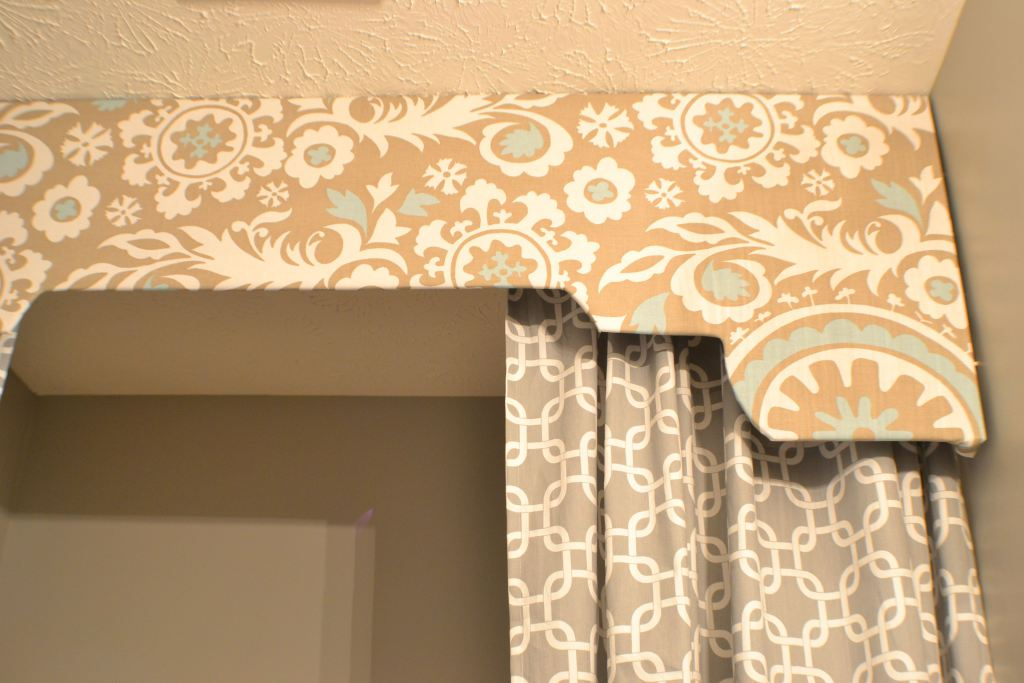 a (fabric inspired) bathroom update