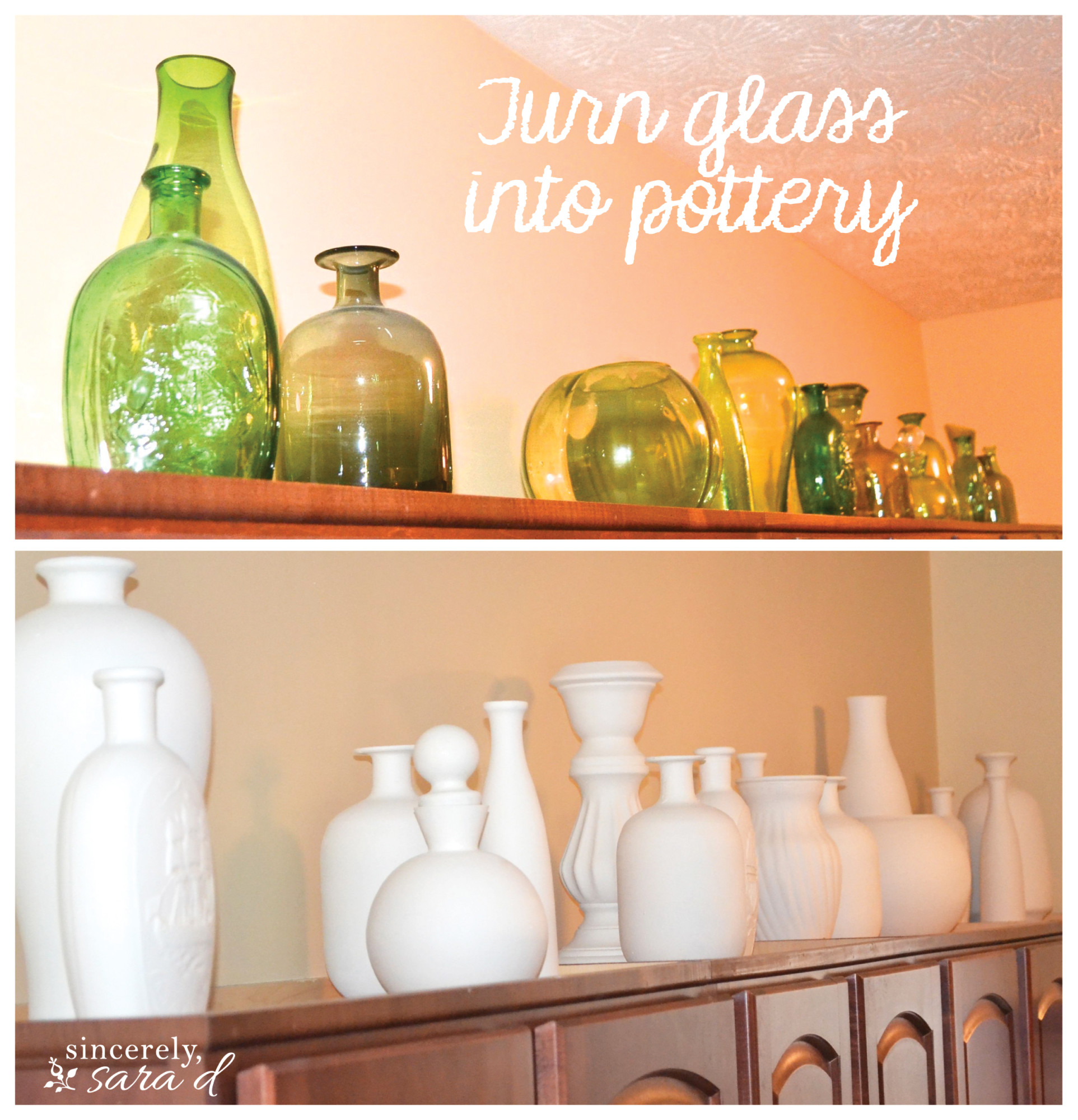 "Turn Glass into ""Pottery"""