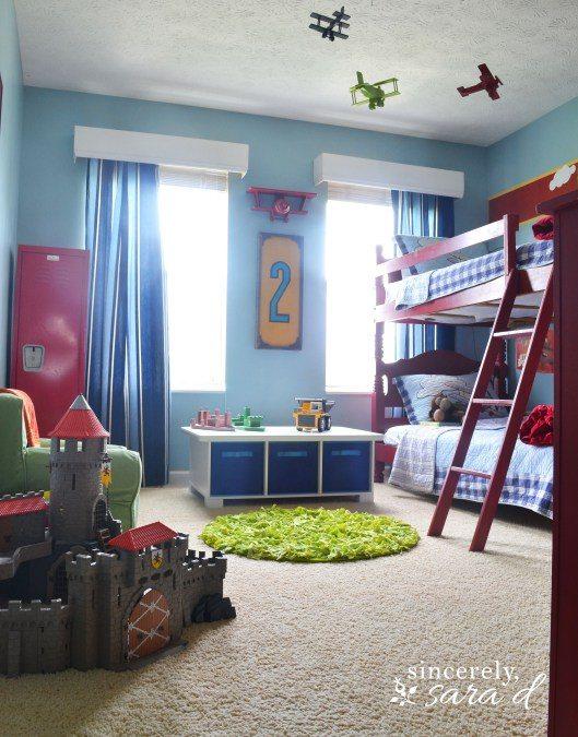 my boys' bedroom