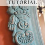 (mirror) chalk paint tutorial