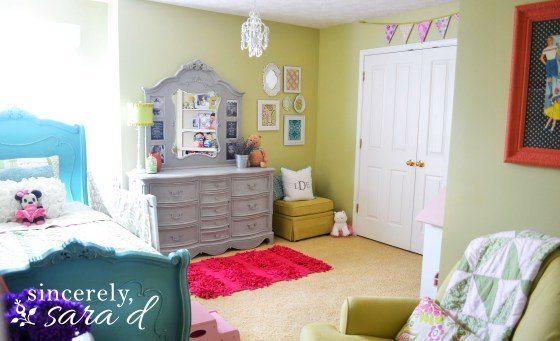 the big girl room redo