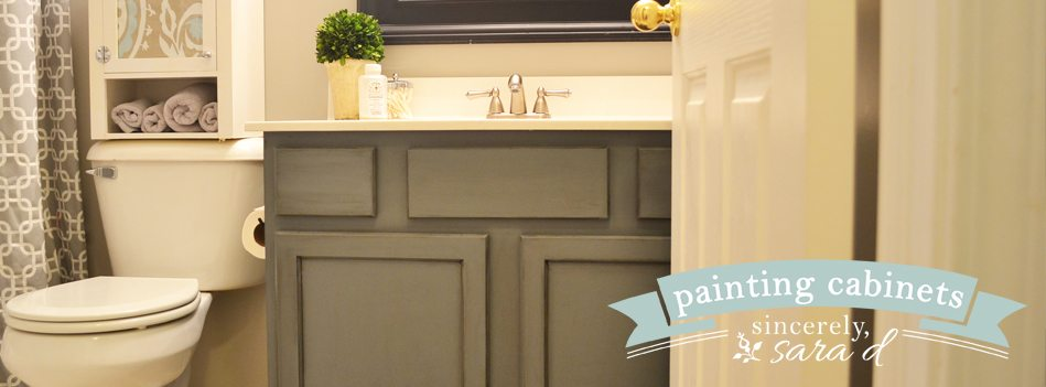 Kitchen Cabinets Ideas painting kitchen cabinets with chalk paint : Painting Cabinets with Chalk Paint - Sincerely, Sara D.