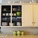 Painting Cabinets {chalk paint edition}