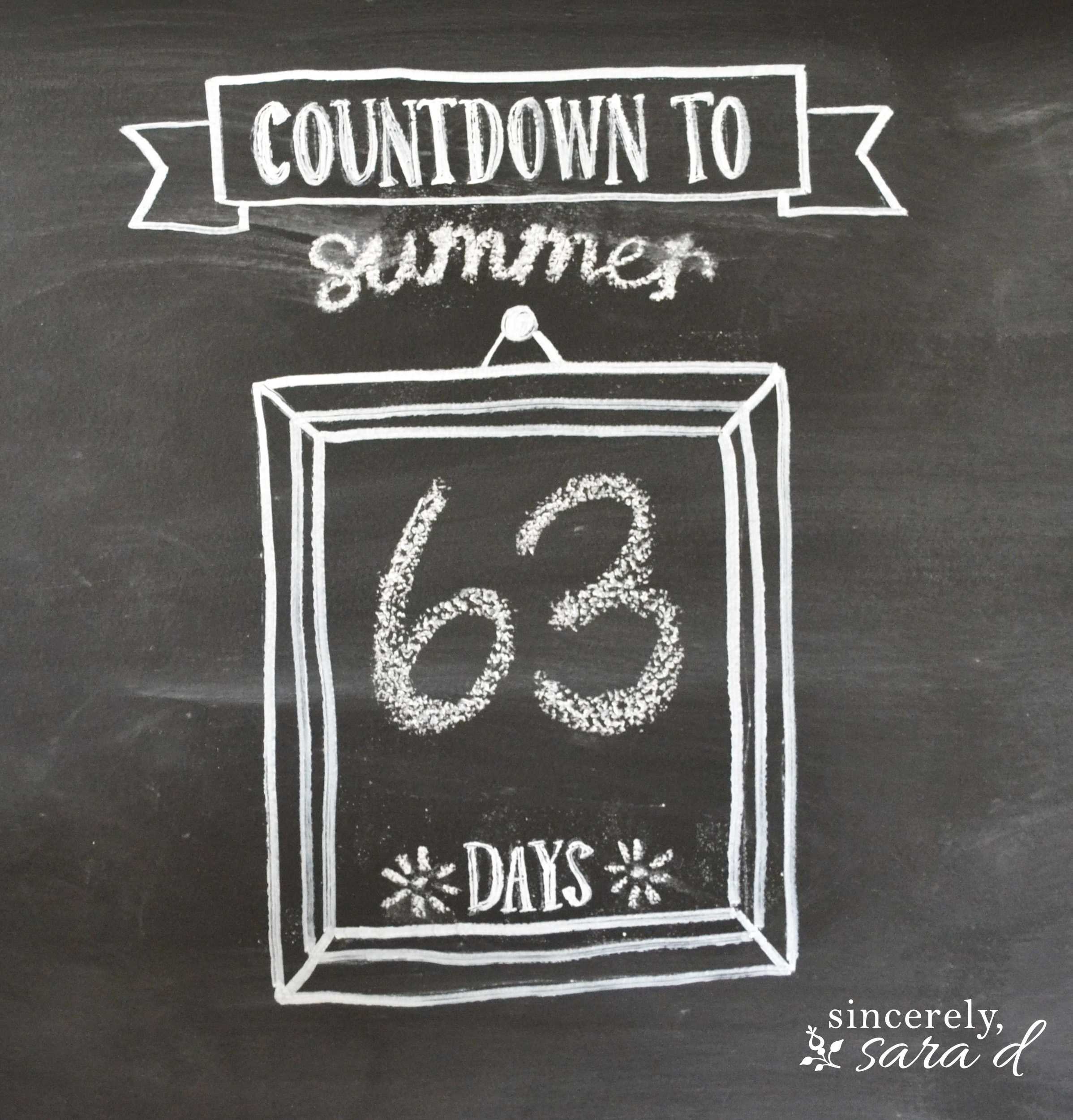 Countdown to Summer