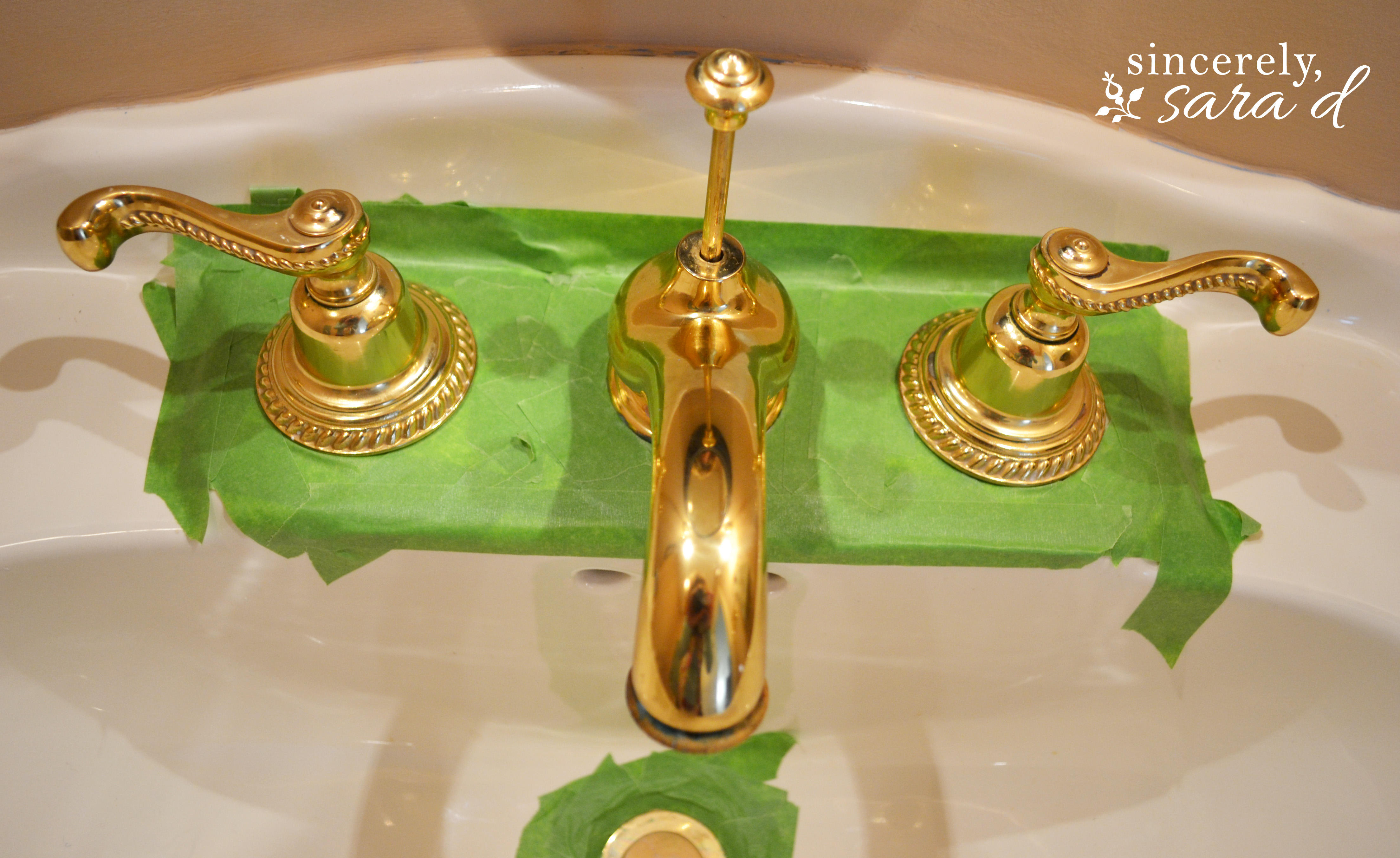 refinishing brass bathroom fixtures how to paint a faucet sincerely d 20139