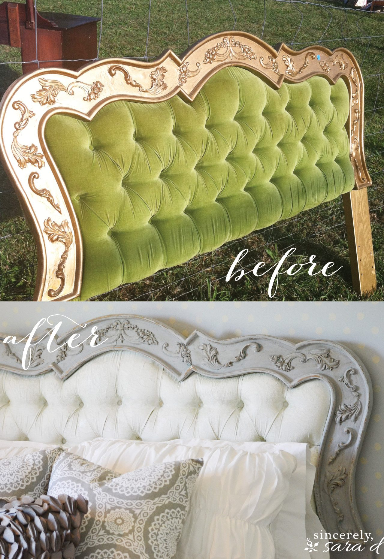 Painted headboard for Painting a headboard