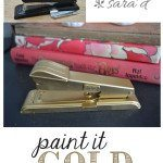 Paint it GOLD (with spray paint)