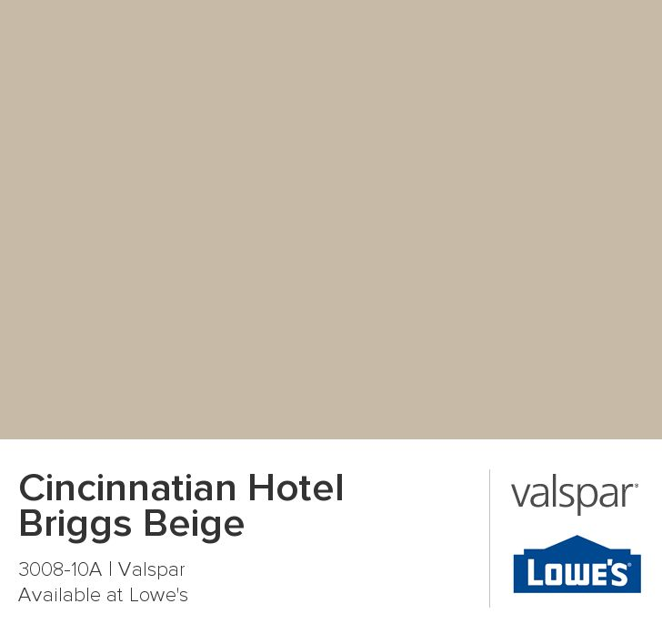 Cincinnatian Hotel Briggs Beige