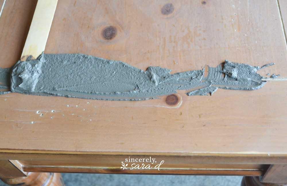 Concrete Table 5