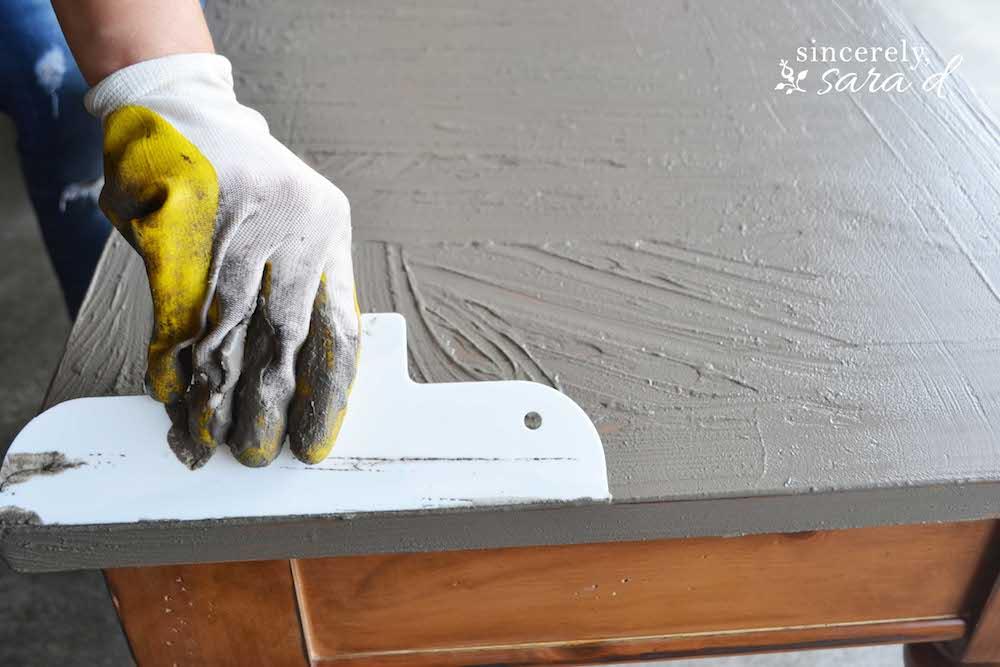 Concrete Table 6