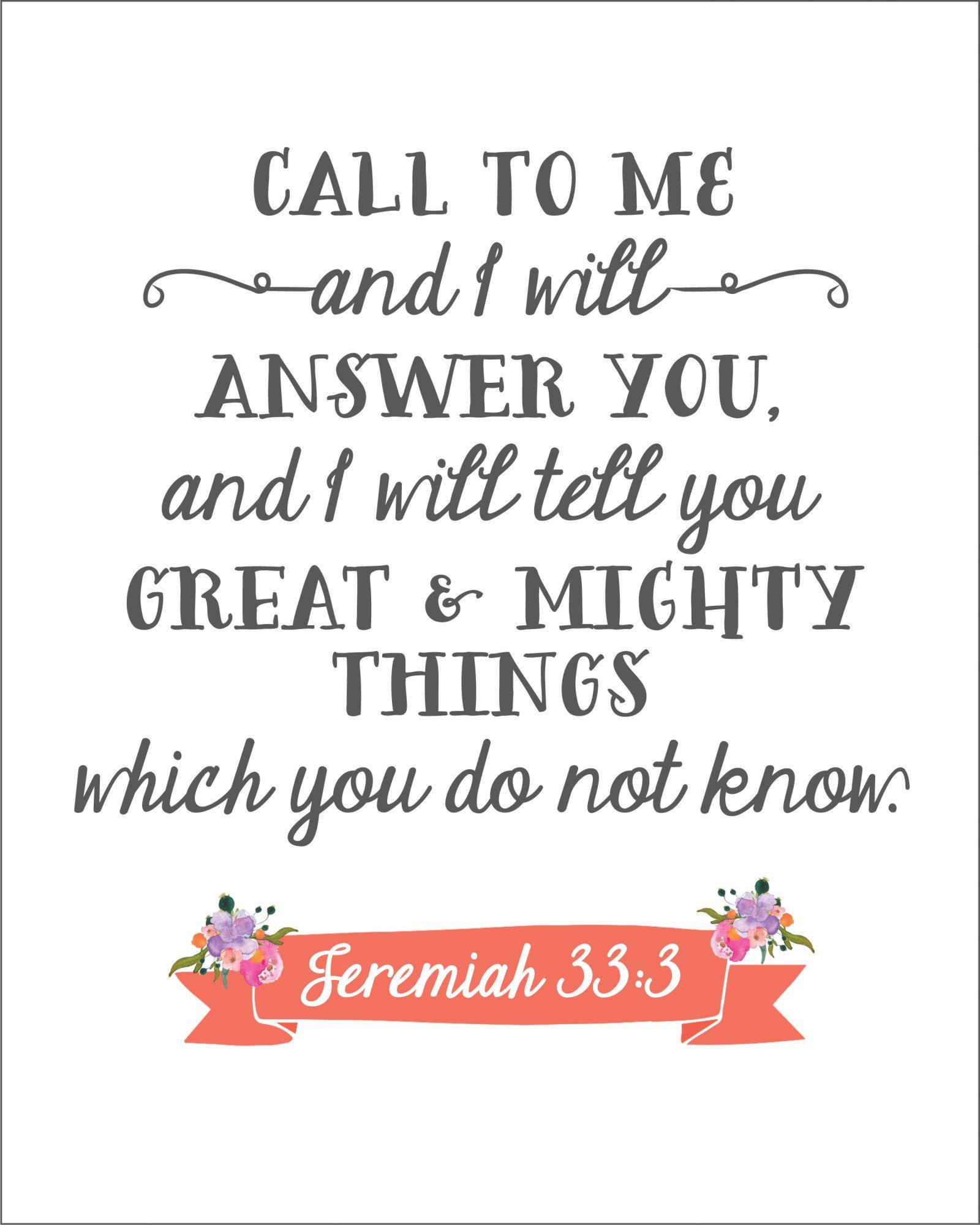 Jeremiah 33*