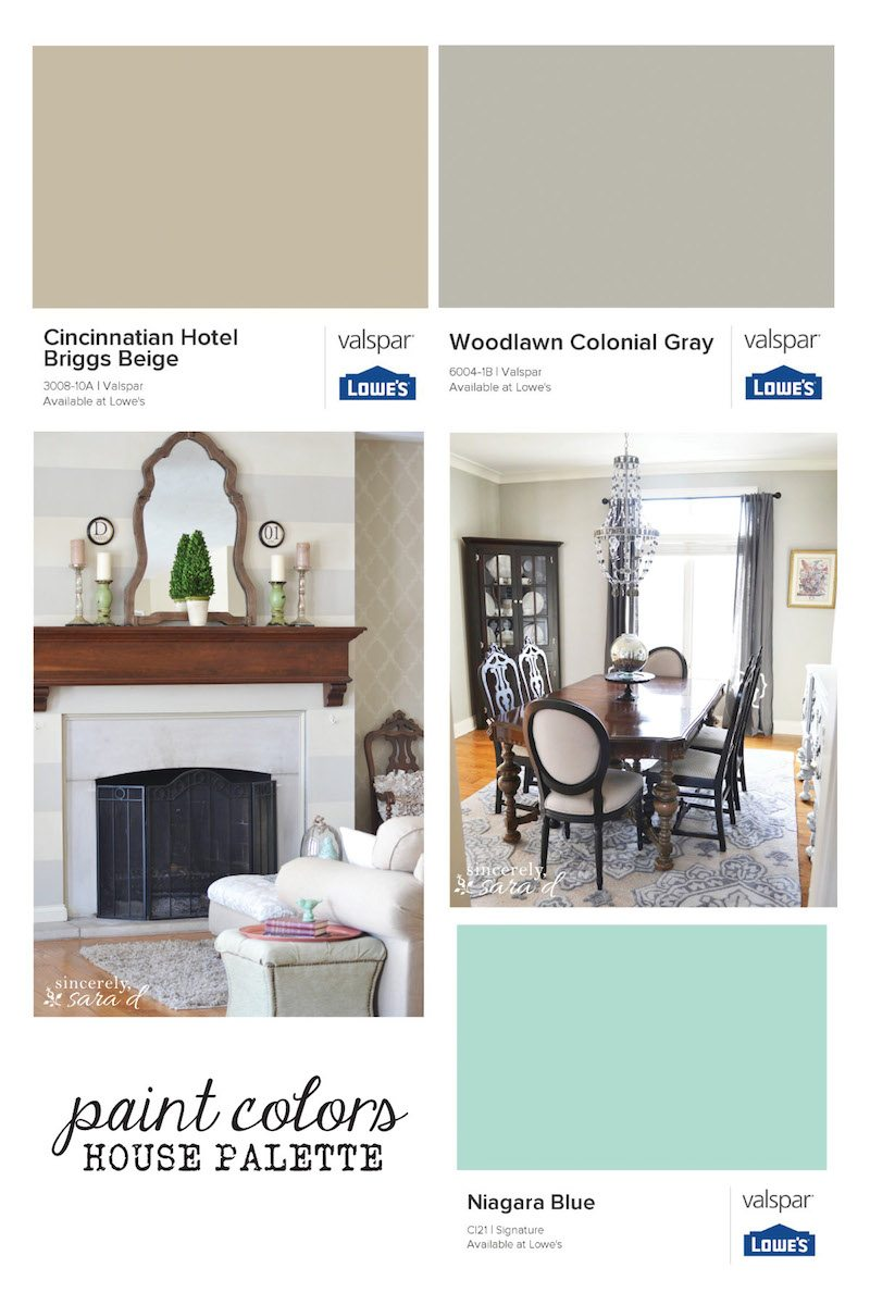 Get Inspiration For Paint Colors And See One House Palette That Works
