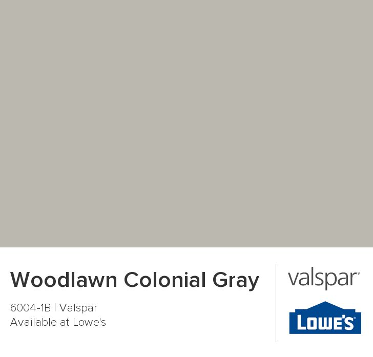 Woodlawn Colonial Gray