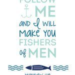 {FREE} September Printable – Matthew 4:19