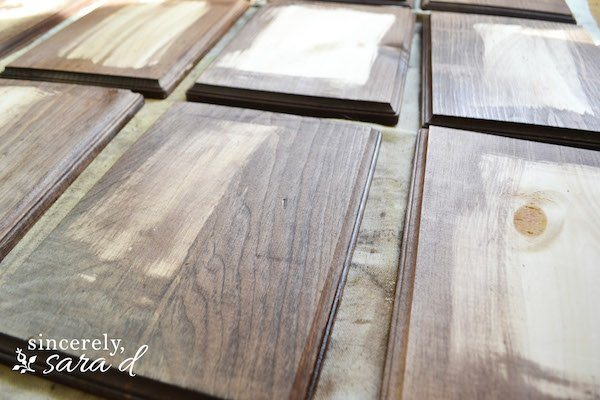 Stain Wood Plaques