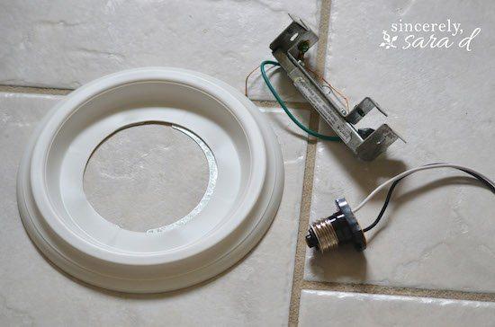 recessed light converter kit. Black Bedroom Furniture Sets. Home Design Ideas