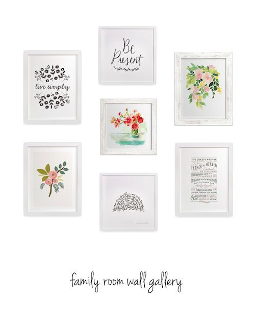 Minted Family Room Gallery