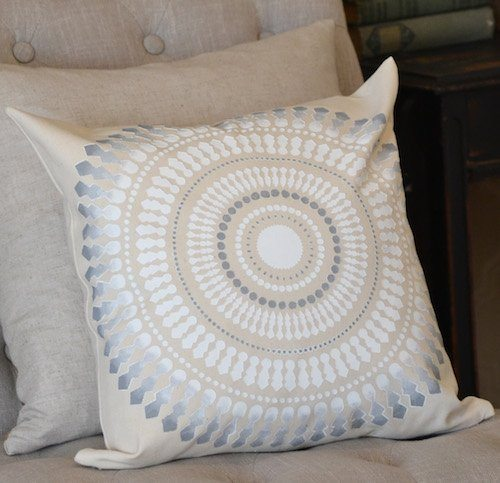 neutral pillow cover