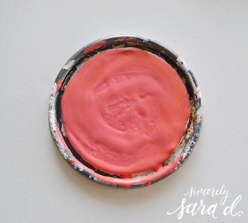 Annie Sloan custom Coral