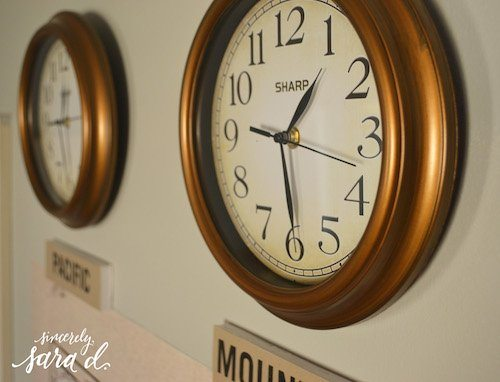 Time Zone Clocks - Us Time Zone Clocks