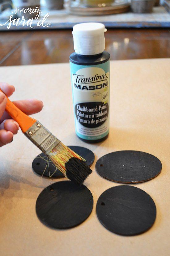 Mason Chalkboard Paint
