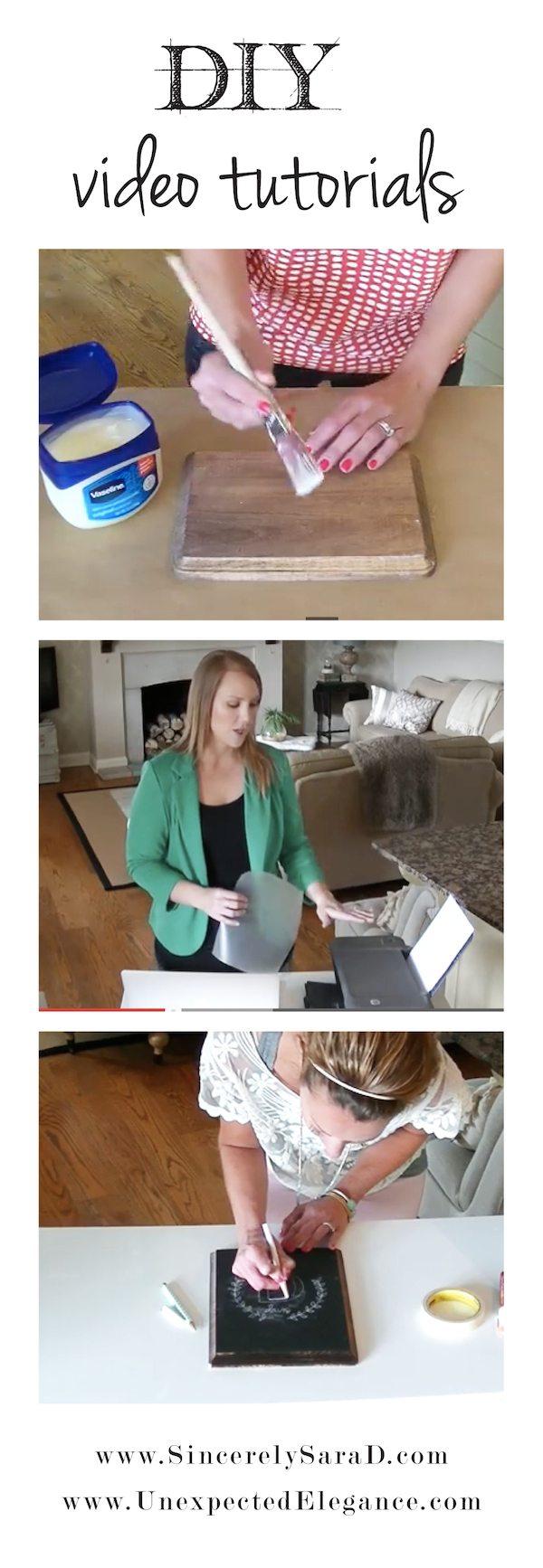 DIY Video Tutorials on YouTube