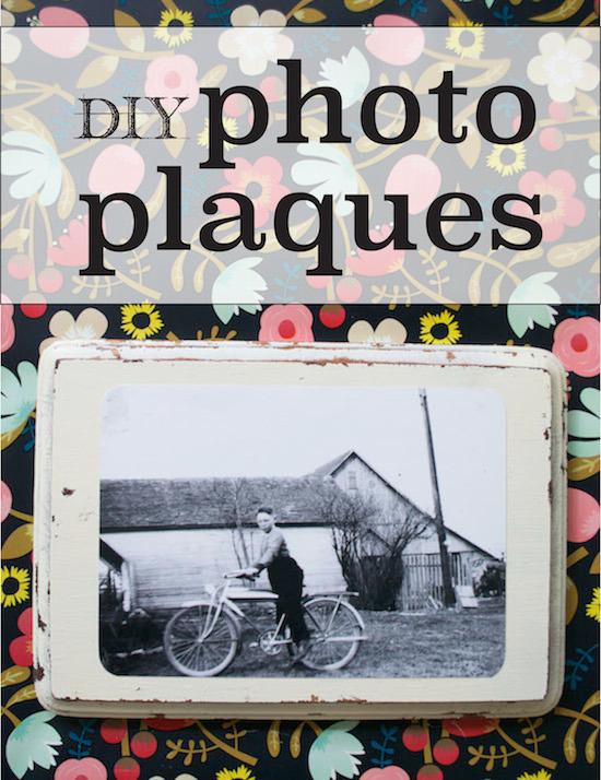 Video Tutorial: DIY Photo Plaques