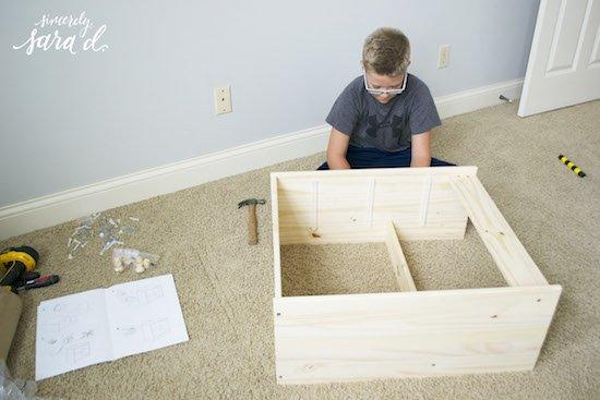 Putting dresser together copy