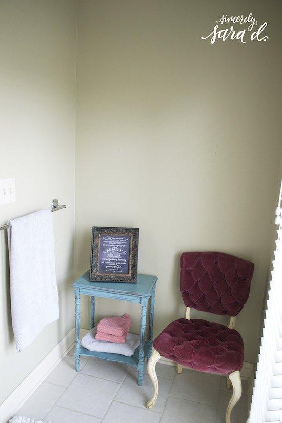 Bathroom Nook - BEFORE