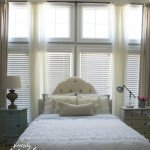 Master Bedroom Makeover & Tips for Making a Pretty Bed