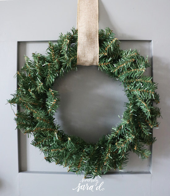 At Home Wreath Decor