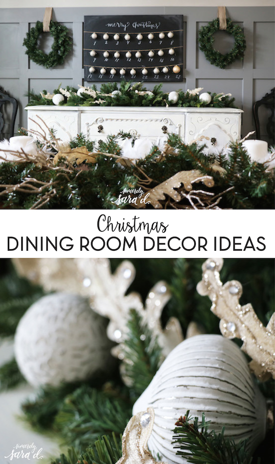 Christmas Dining Room Decor Ideas