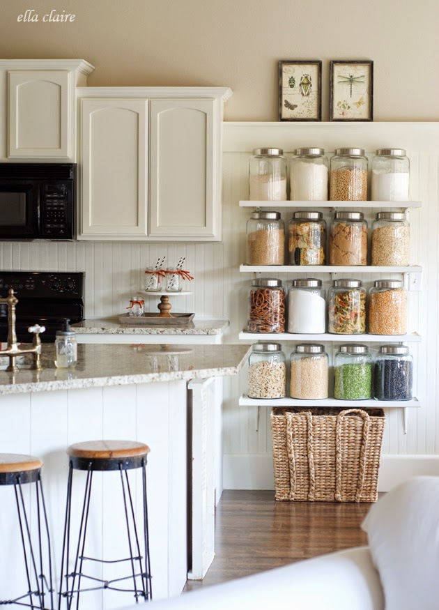 Inexpensive Kitchen Glass Canisters Sincerely Sara D