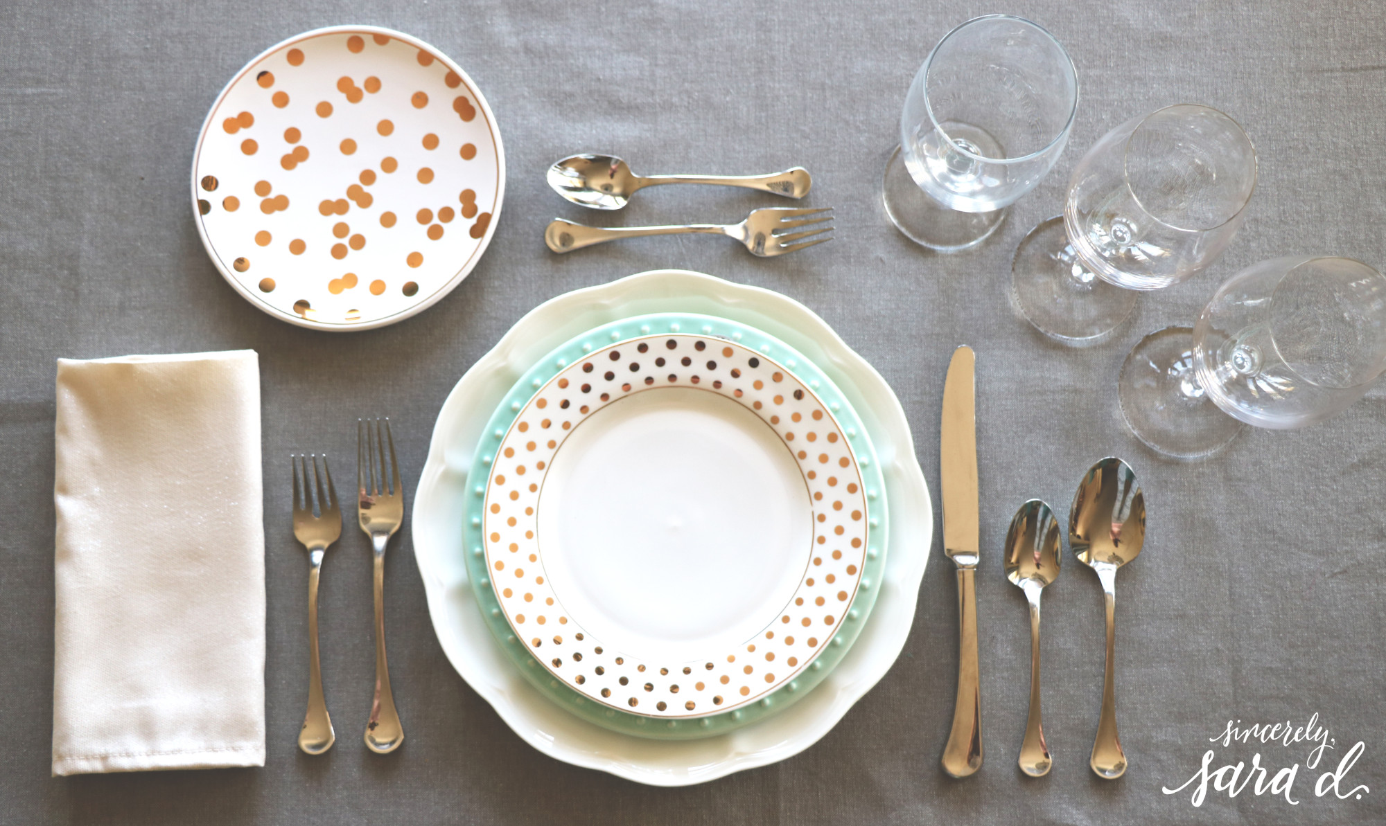Entertaining tips setting a proper table sincerely for Table place setting