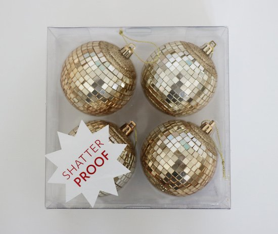 Shatter Proof Ornaments