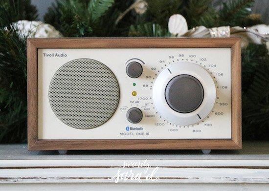 Tivoli Audio with Bluetooth