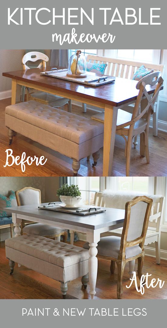 kitchen table makeover kitchen table update sincerely d 3226