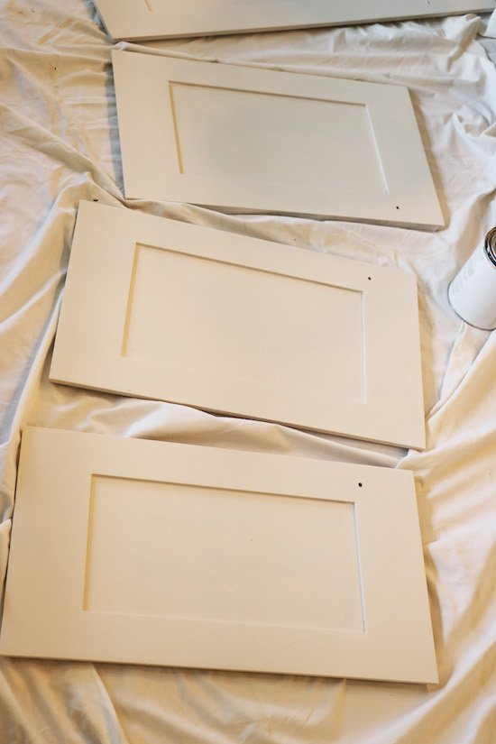 Amy Howard Paint on Cabinets