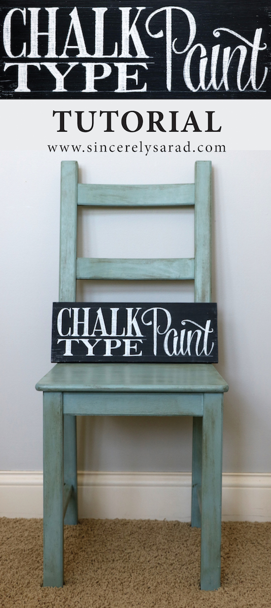 Painting Furniture with Chalk-Type Paint  Sincerely Sara D.