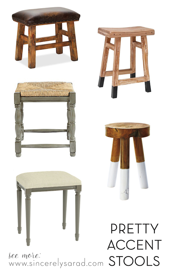 Bathroom Chairs And Stools Grasscloth
