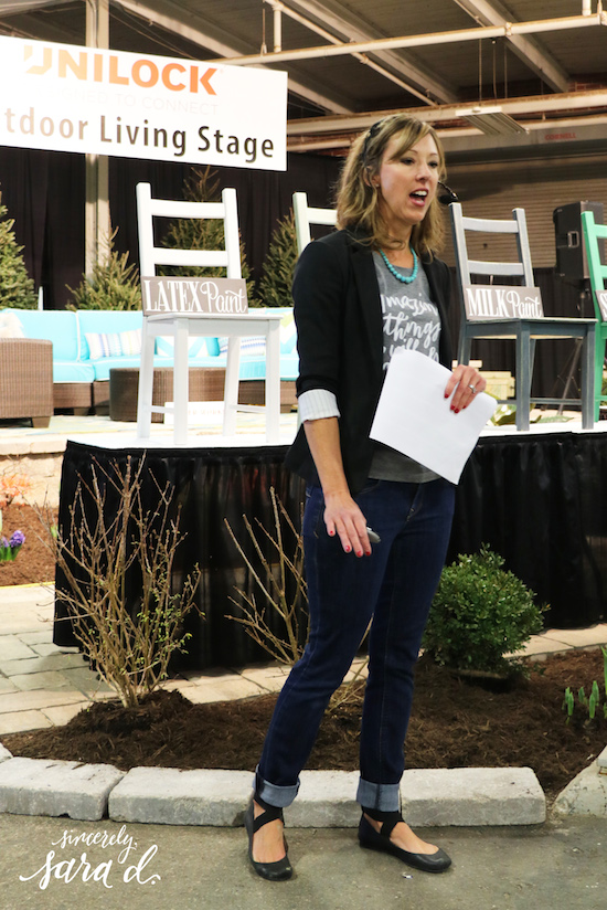 Sara Davis at Indy Home Show
