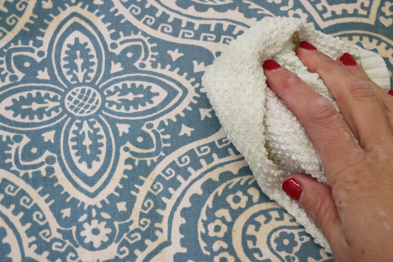how to make fabric starch