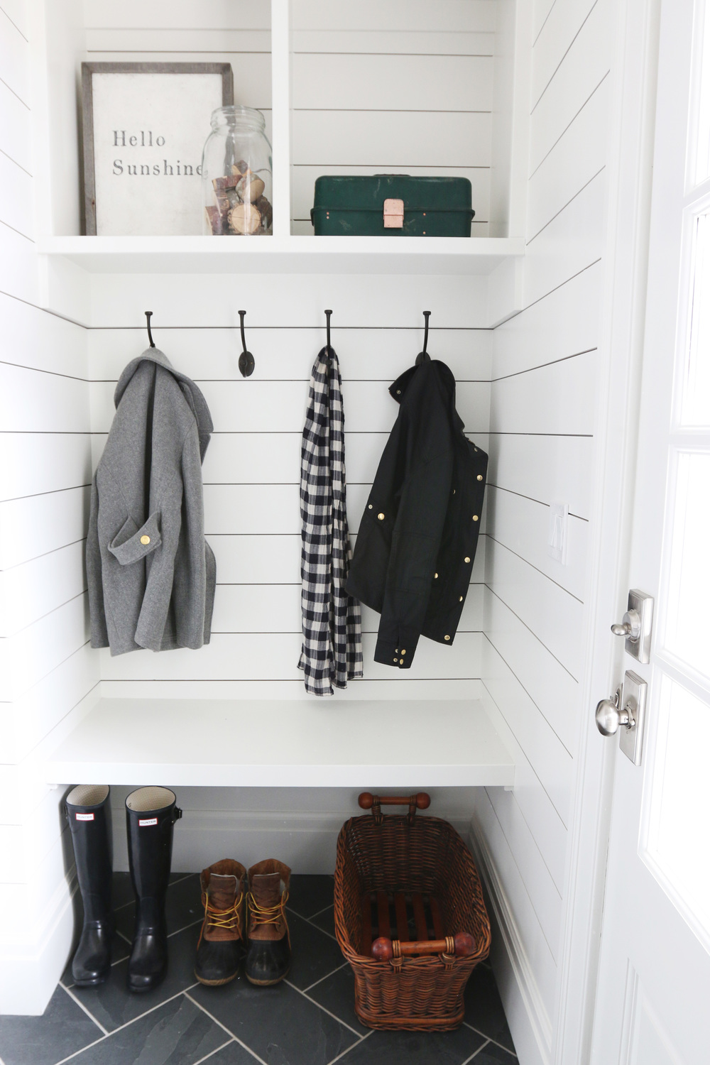 Mudroom+Storage+||+Studio+McGee Shiplap