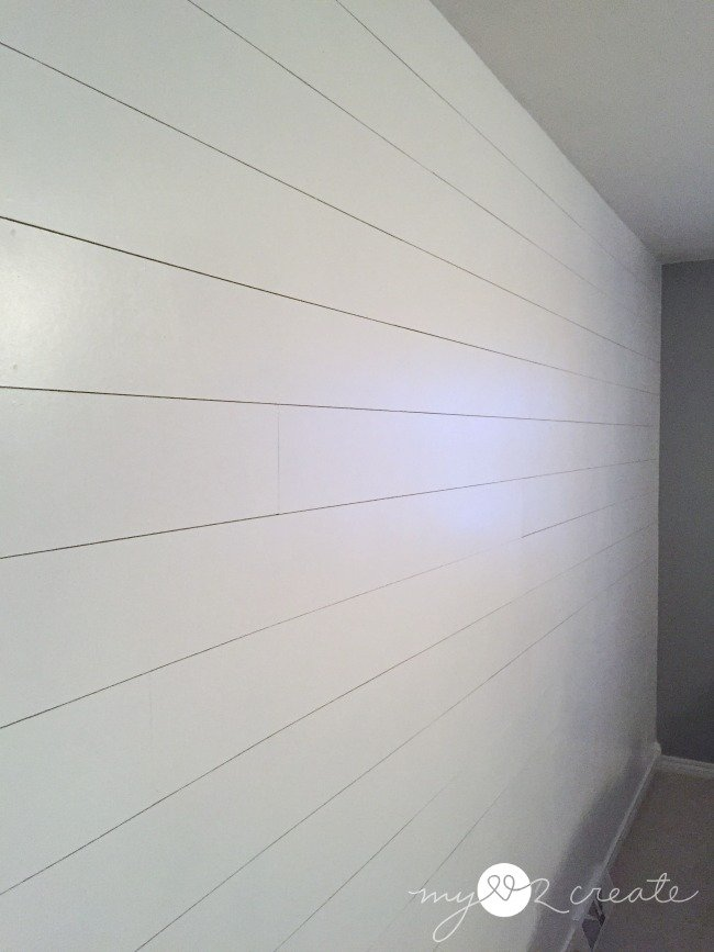 long shot of plank wall, MyLove2Create