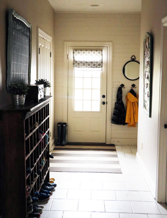 Shiplap In Mudroom Sincerely Sara D