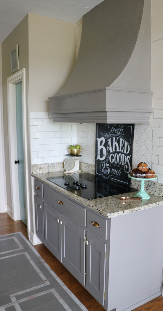 Why i repainted my chalk painted cabinets sincerely sara d for Amy howard paint kitchen cabinets