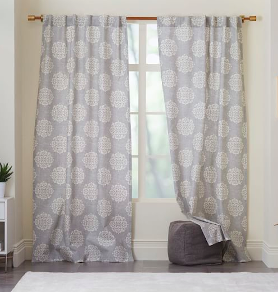 Spring cleaning window treatments sincerely sara d for West elm window treatments