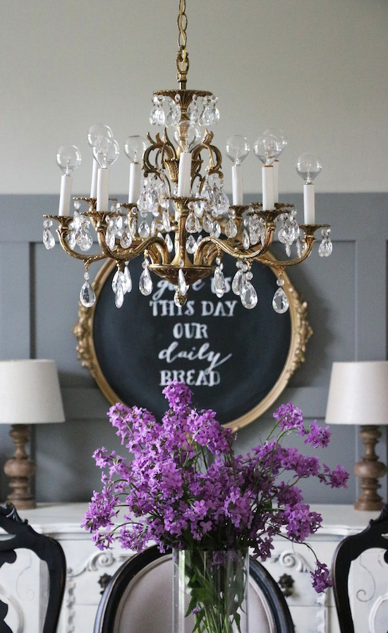 Decorating with heirlooms