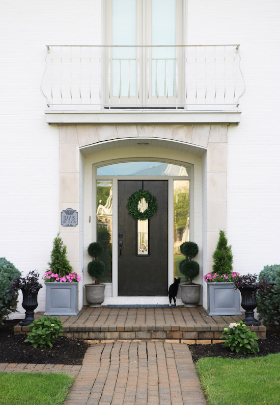 Landscaping makeover with Southern Living