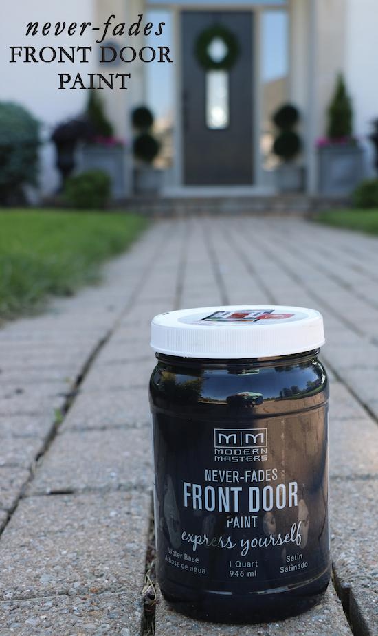 Never Fades Front Door Paint